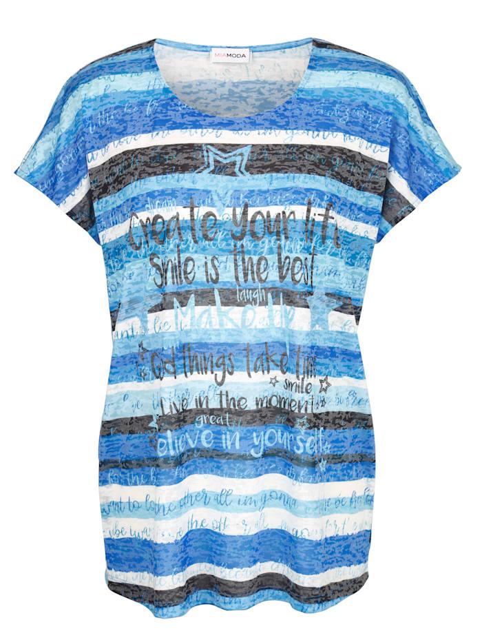 Shirt mit ausgefallenem Streifenmuster