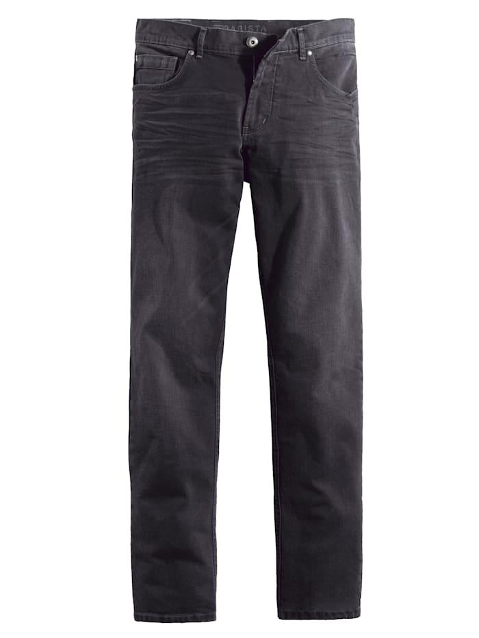 BABISTA Jeans mit modischen Akzenten, Schwarz