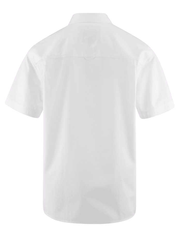 Chemise à fines rayures