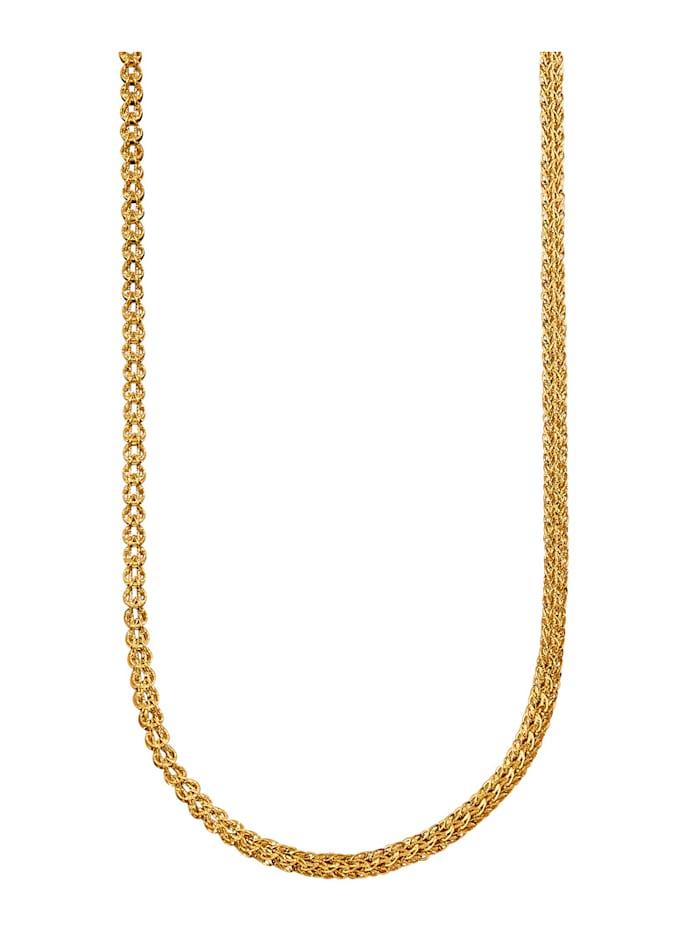 Diemer Gold Collier en or jaune 585, Coloris or jaune