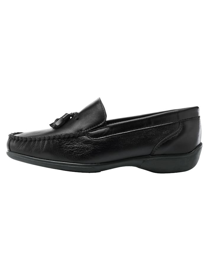 Loafers med klassisk mockasinsöm