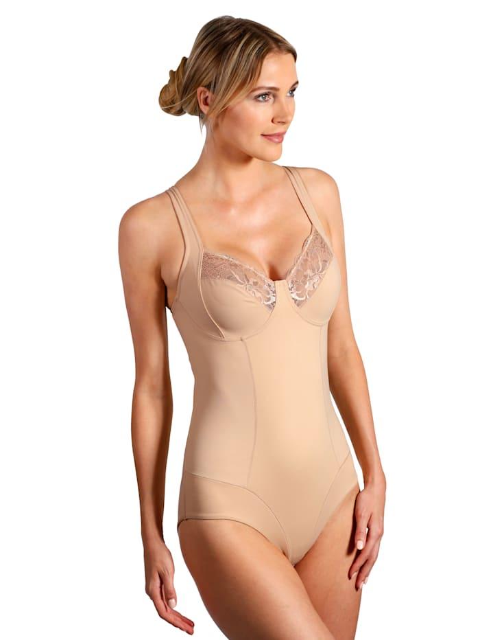 Harmony Keskivahvasti muotoileva body, Nude