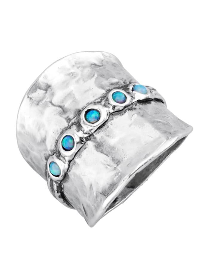 Roman Glass Naisten sormus, Hopeanvärinen