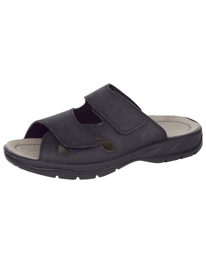 Jomos Nazouvací obuv optimálně padnou díky suchému zipu, Černá