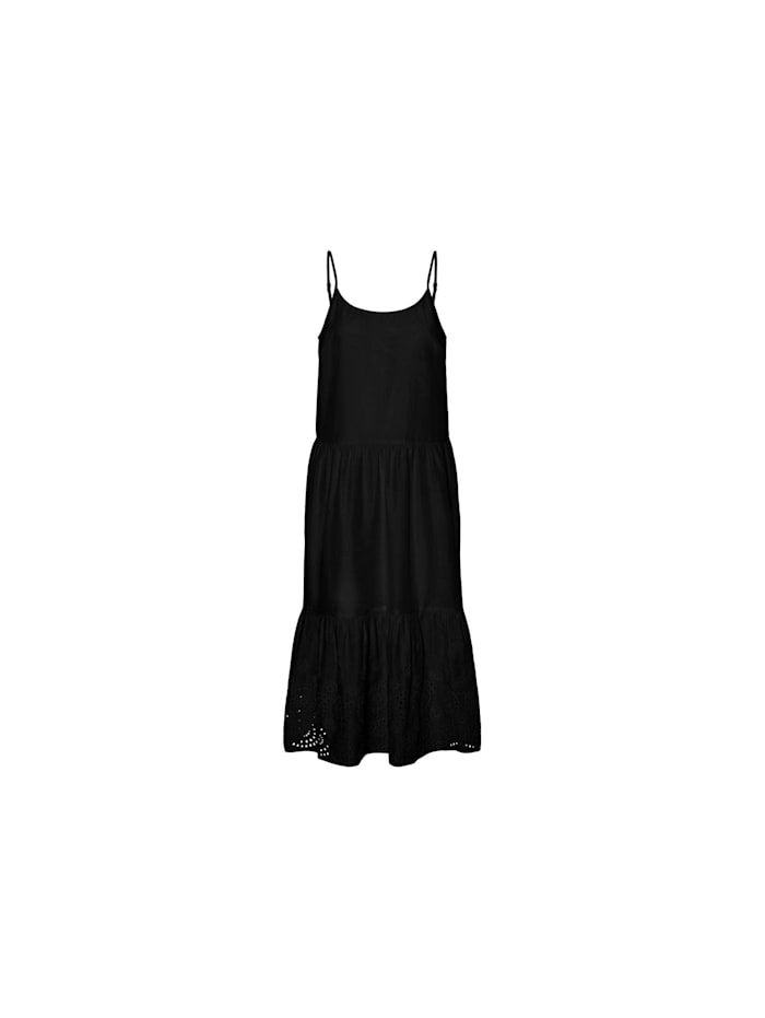 Vero Moda Midikleider, schwarz