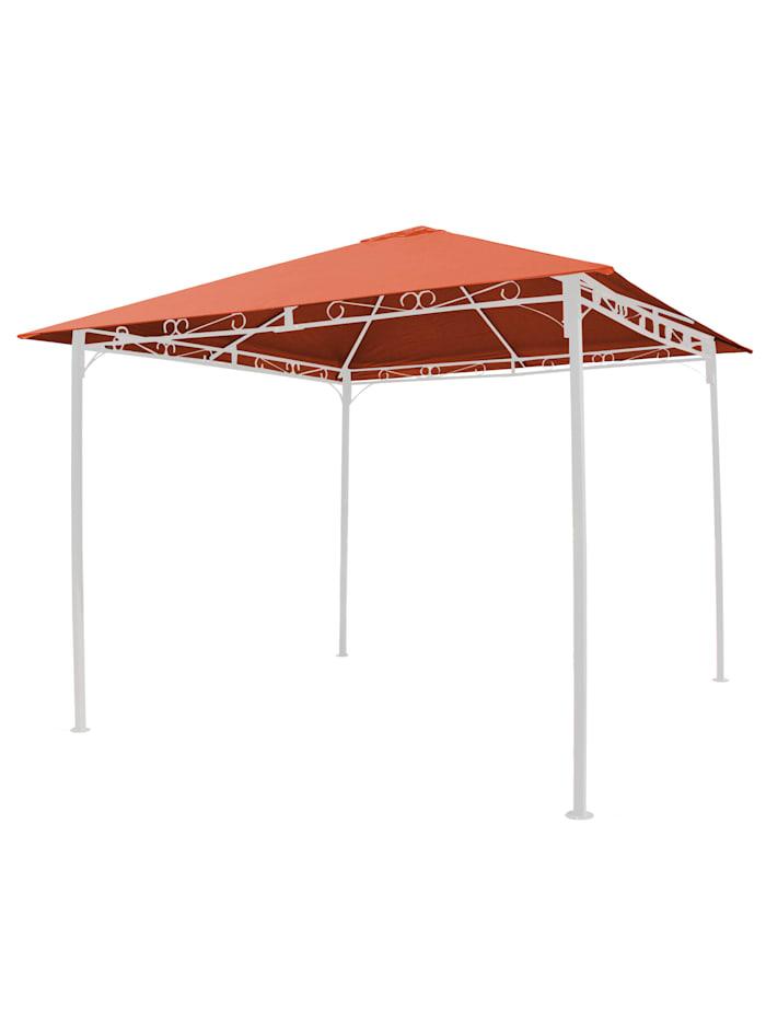 Grasekamp Universal Ersatzdach 293 x 293 cm  Polyester Terra mit UV Schutz,  wasserabweisend, Orange