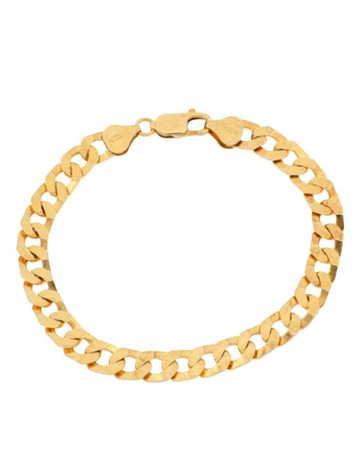 Grazielli Armband, pansarlänk, Guldfärgad