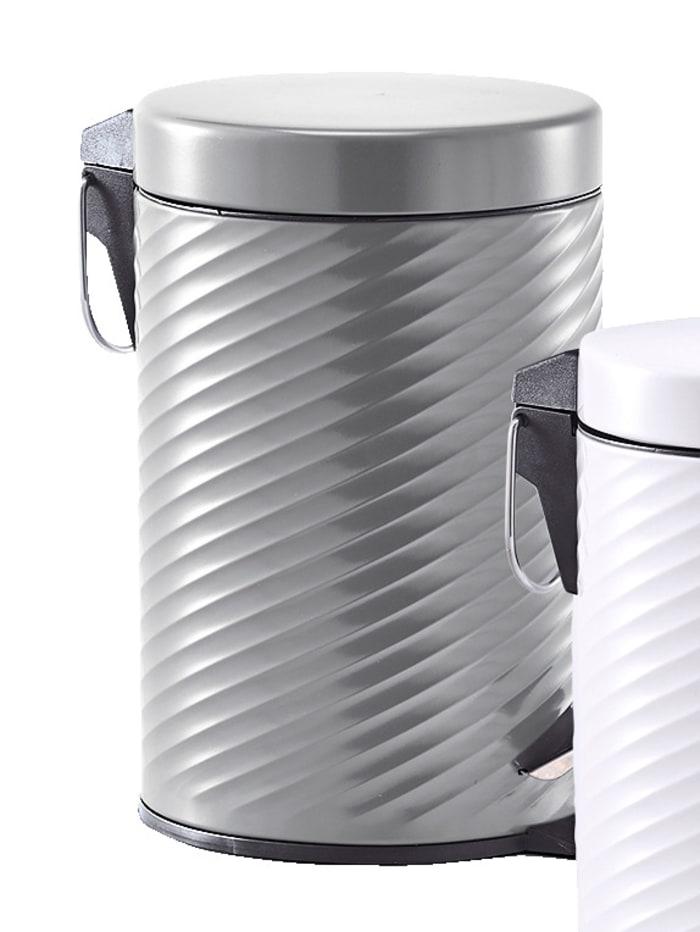 Treteimer, 3 Liter, Metall anthrazit