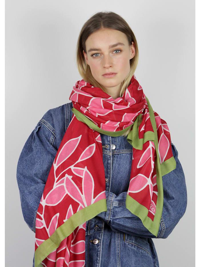 Floraler Schal aus nachhaltiger LENZING™ ECOVERO™ Viskose