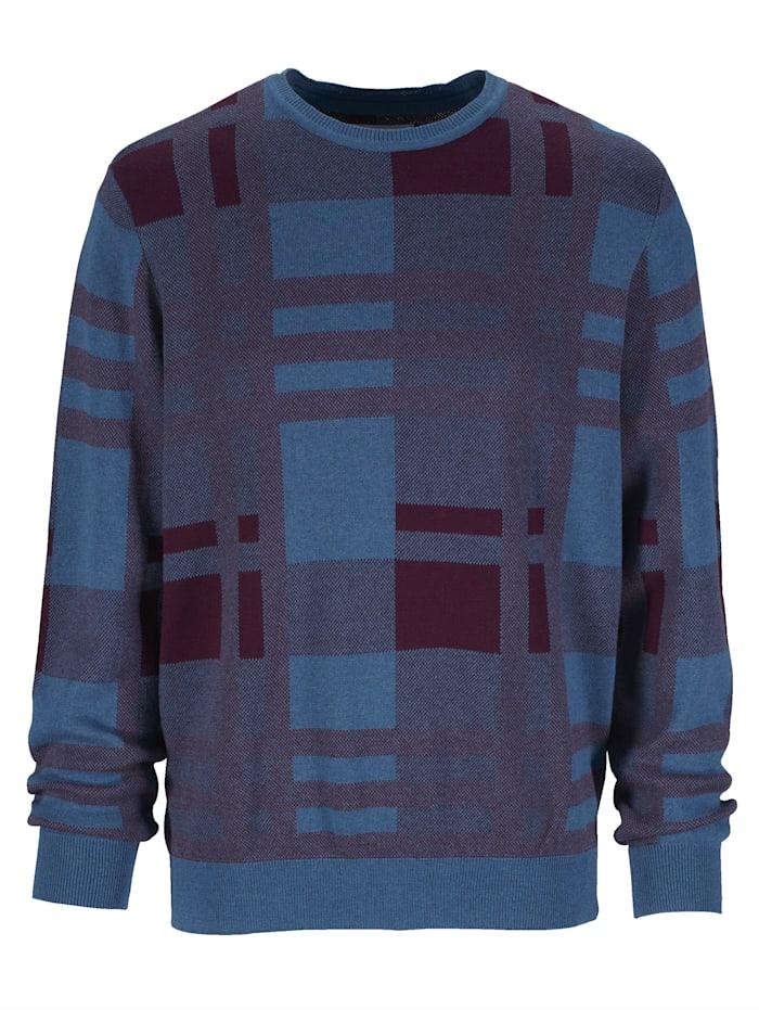 Pullover mit aufwändigem Jacquard-Muster