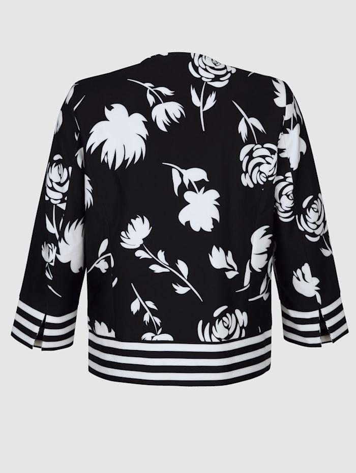 Kukkakuvioitu jakku