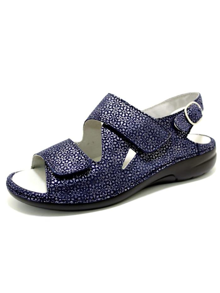 Waldläufer Sandale Sandale, blau