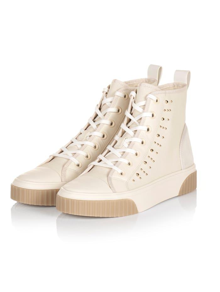MICHAEL Michael Kors Hightop Sneaker, Creme-Weiß