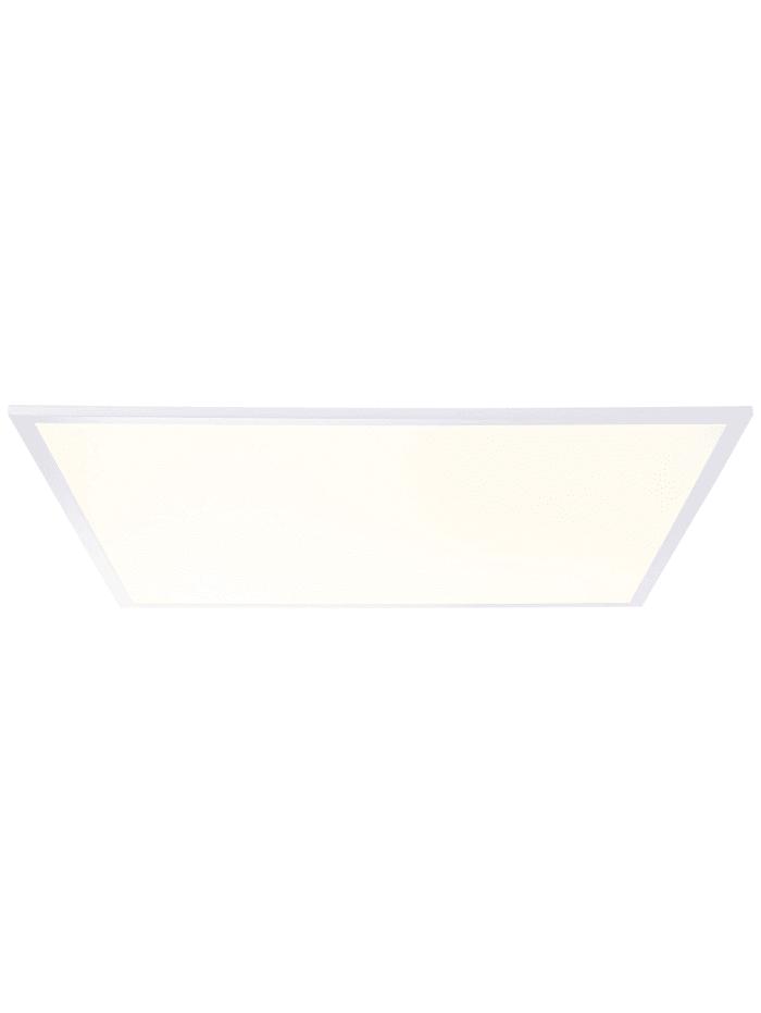 Brilliant Charla LED Deckenaufbau-Paneel 60x60cm weiß/warmweiß, weiß/warmweiß