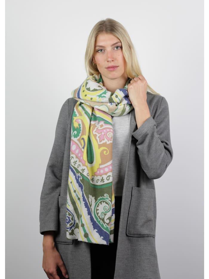 Kuschelweicher Paisley-Schal mit Viskose