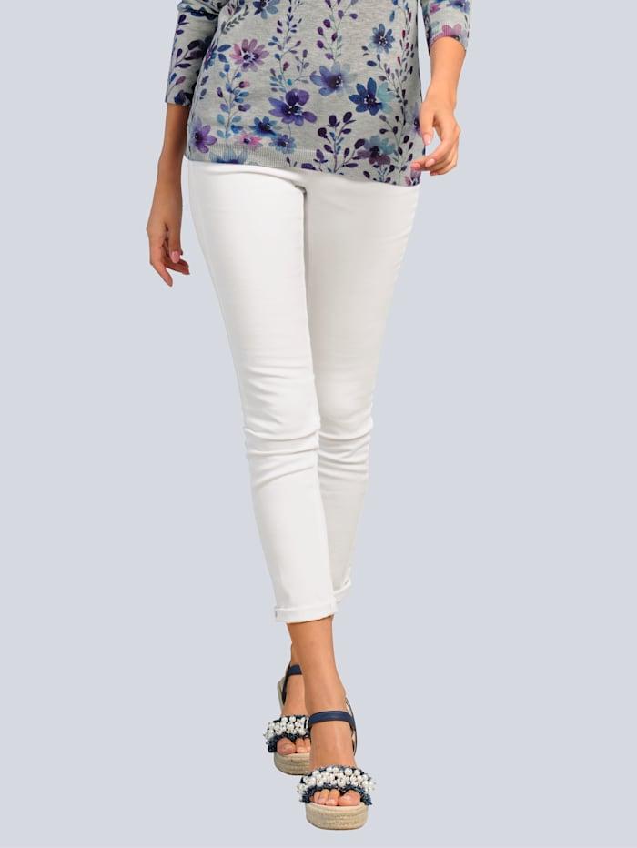 Push-up-jeans met normale bandhoogte