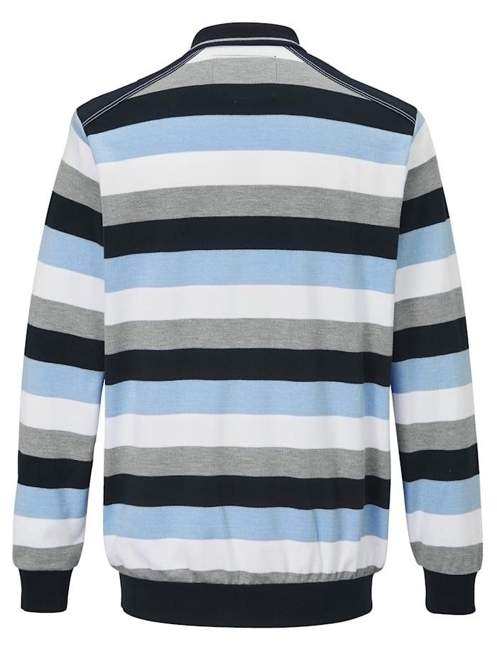 Sweatshirt van onderhoudsarm materiaal