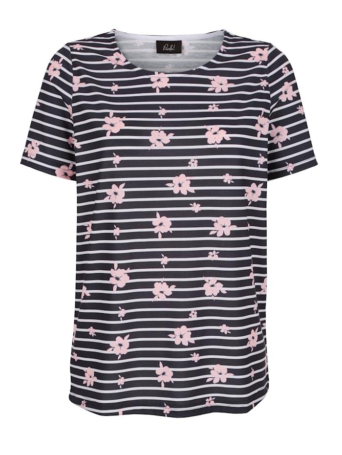 Shirt met streeppatroon