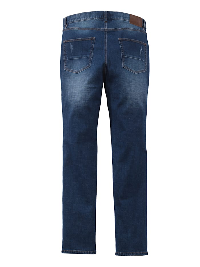 Destroyed Jeans Slim Fit