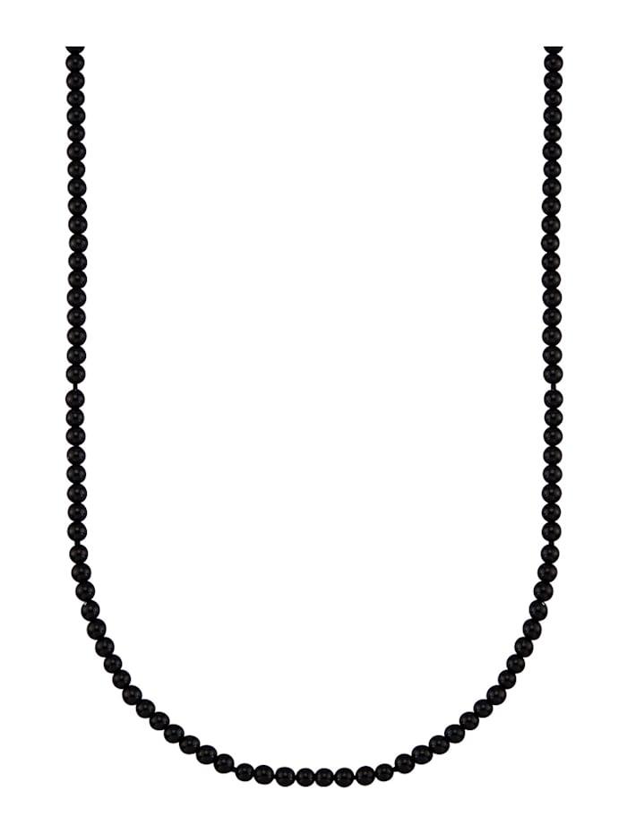 Ketting van zwarte onyxen (beh.), Zwart