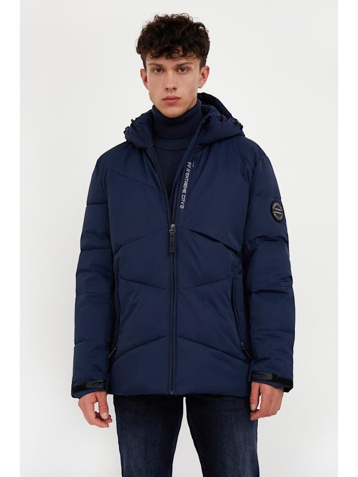 Finn Flare Jacke mit modernem Steppdesign, dark blue