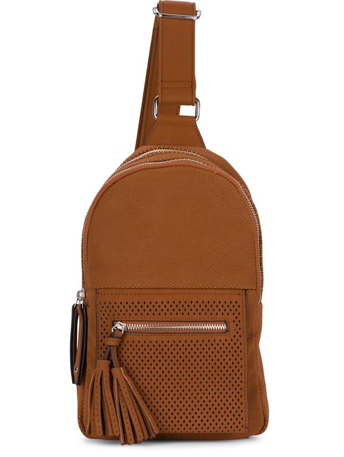 SURI FREY SURI FREY Bodybag Romy Ailey Fransen, cognac 700