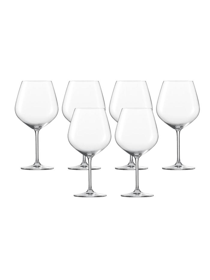 Schott Zwiesel Burgunderpokal 6er-Set Vina, Transparent
