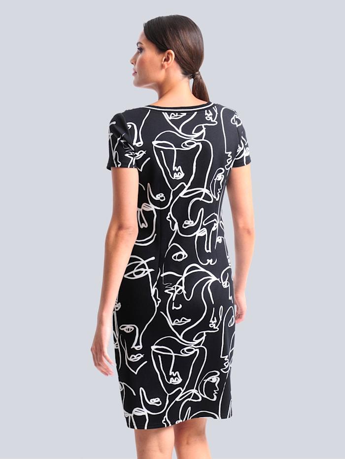 Jerseykleid aus hochwertiger Piquée-Qulität