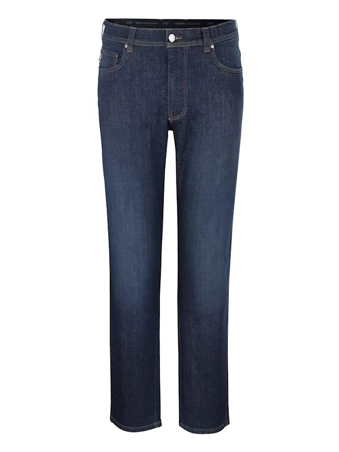 Brühl Jean 5 poches en qualité de marque, Dark blue