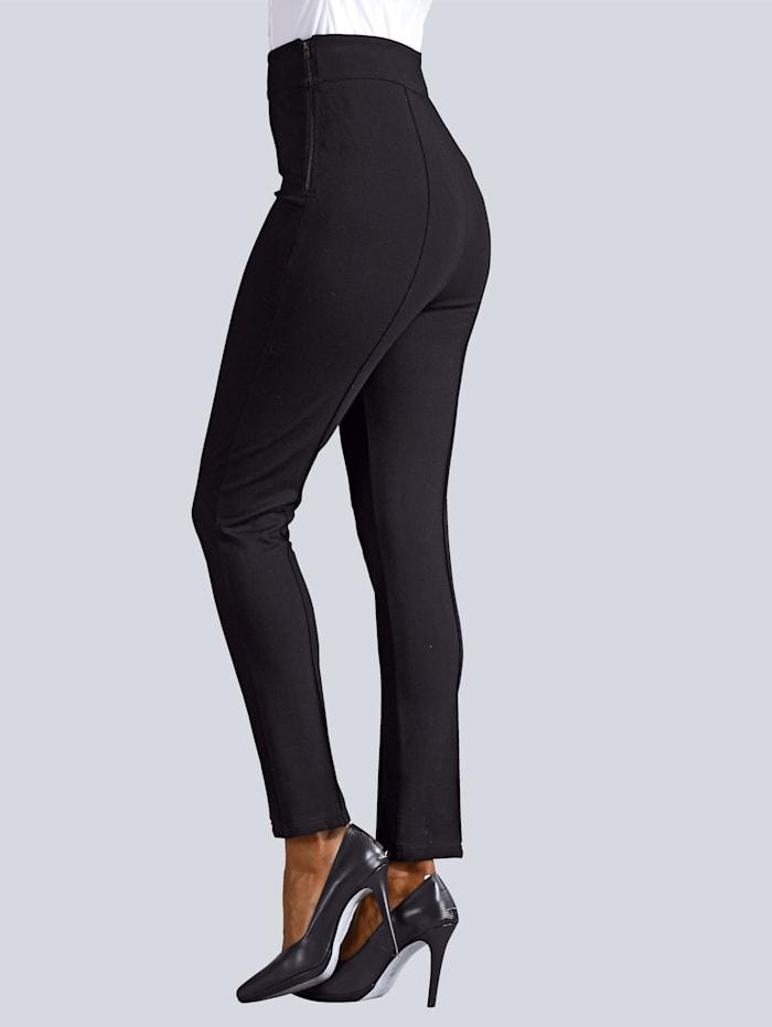 Hose Stretch Hose mit hoher Leibhöhe
