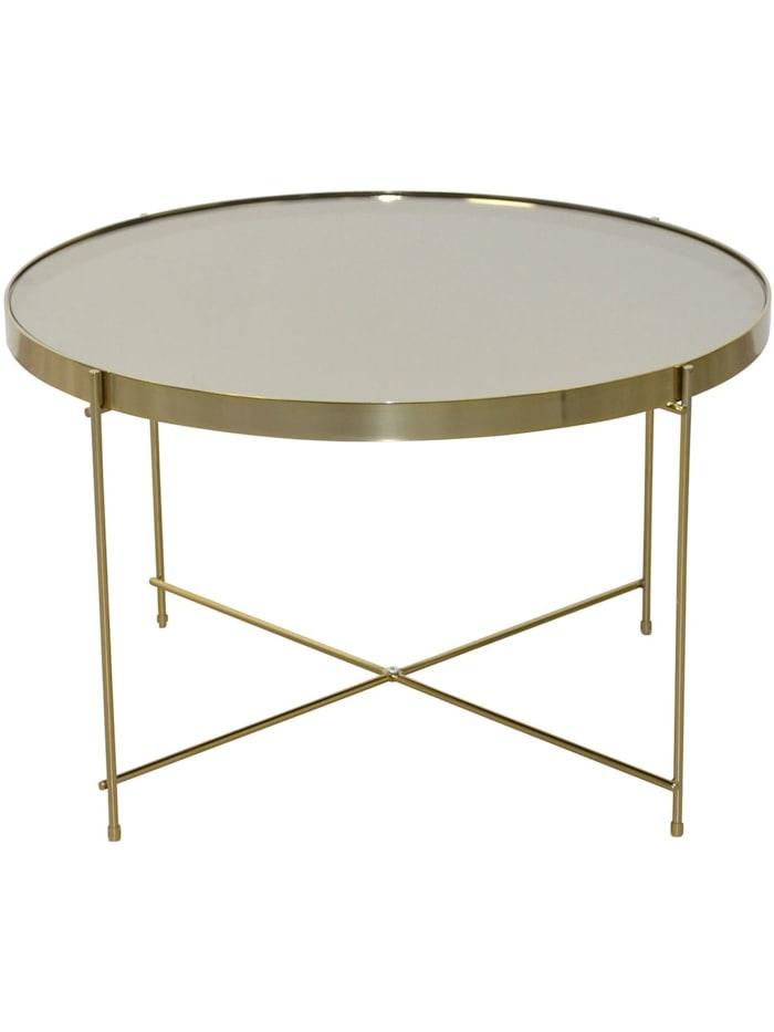 Möbel-Direkt-Online Couchtisch Santiego, gold