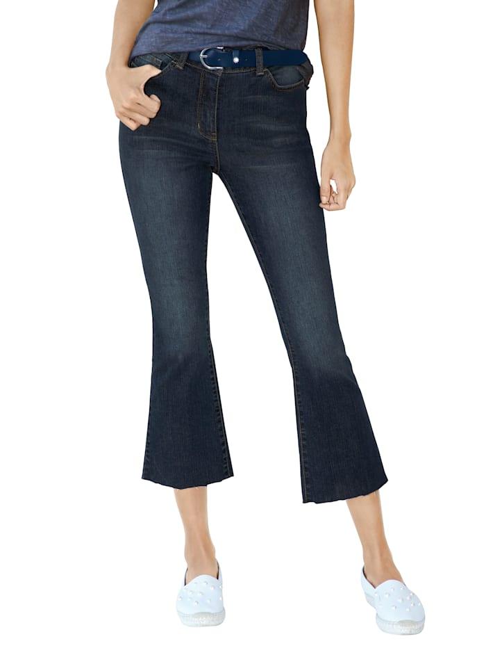AMY VERMONT Jeans in verkürzter Form, Schwarz