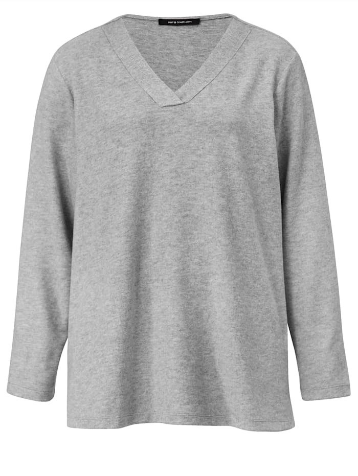 Shirt in Strickoptik