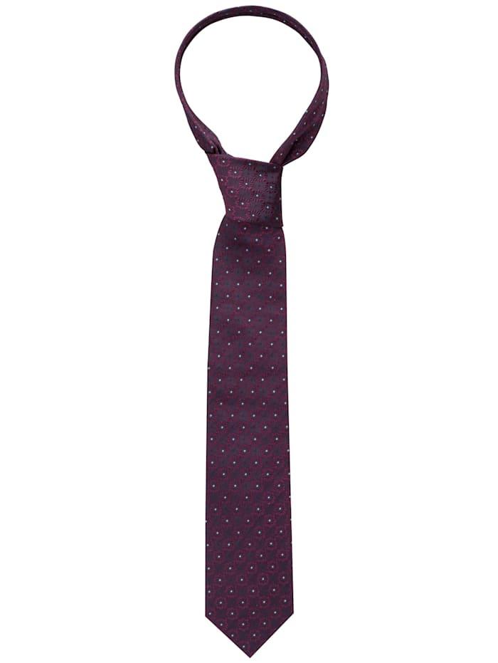 Eterna Eterna Krawatte breit, rot/blau
