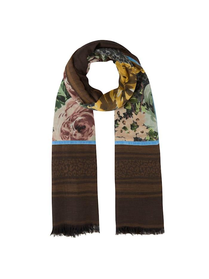 Codello Premium Rosen-Schal aus Modal und Wolle, camel
