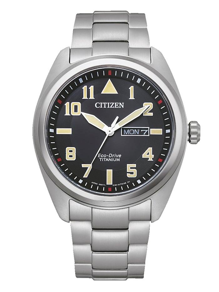 Citizen Herrenuhr Eco Drive Eco-Drive, BM8560-88EE, Silberfarben