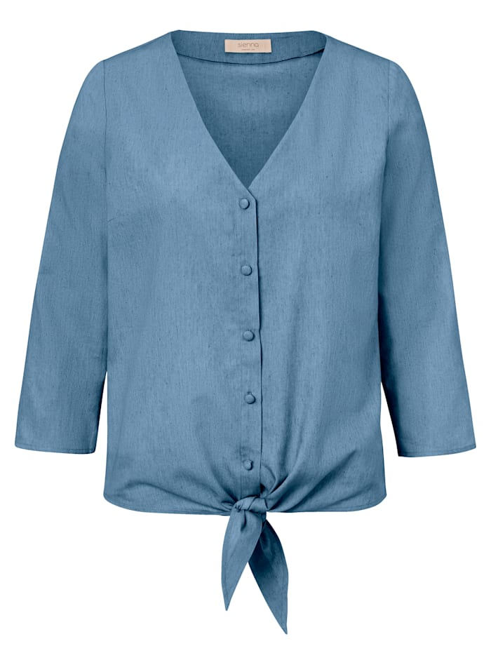 SIENNA Bluse, Blau