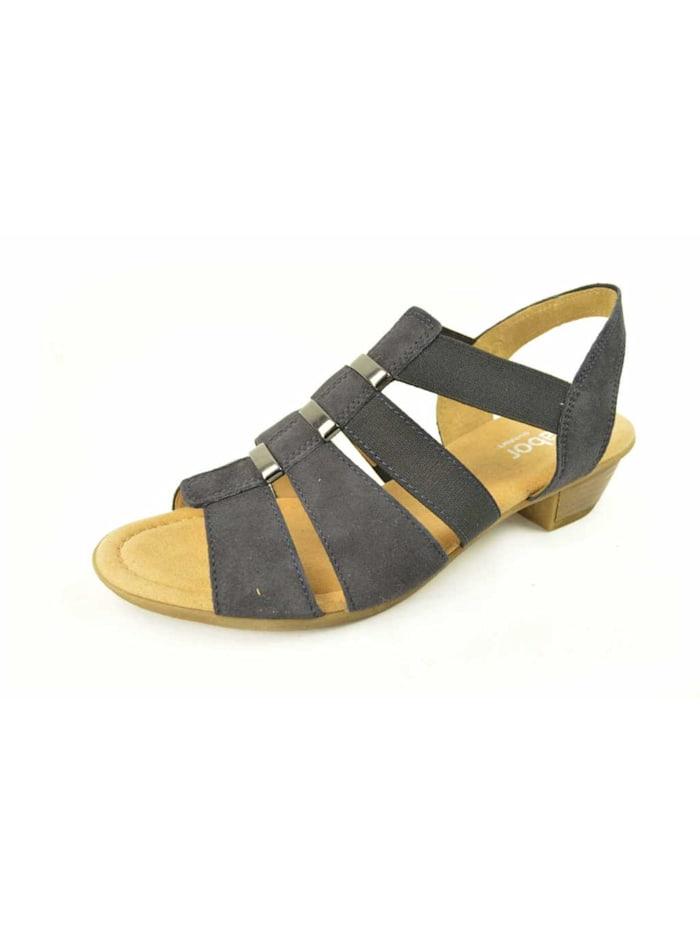 Gabor Sandale Sandale, blau