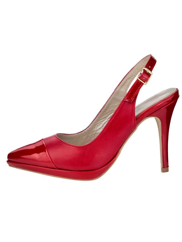 Sling obuv v ženskom vyhotovení