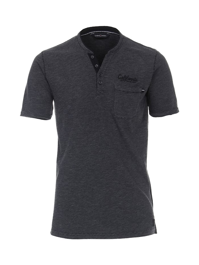 CASAMODA T-Shirt gestreift, Dunkelblau
