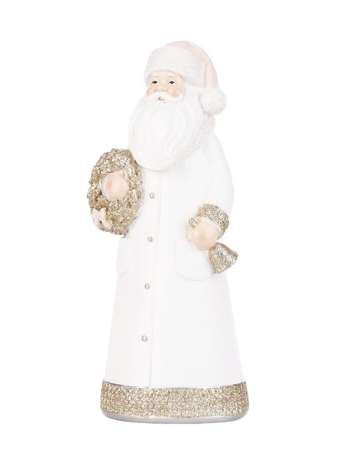 Décoration Père Noël, Crème