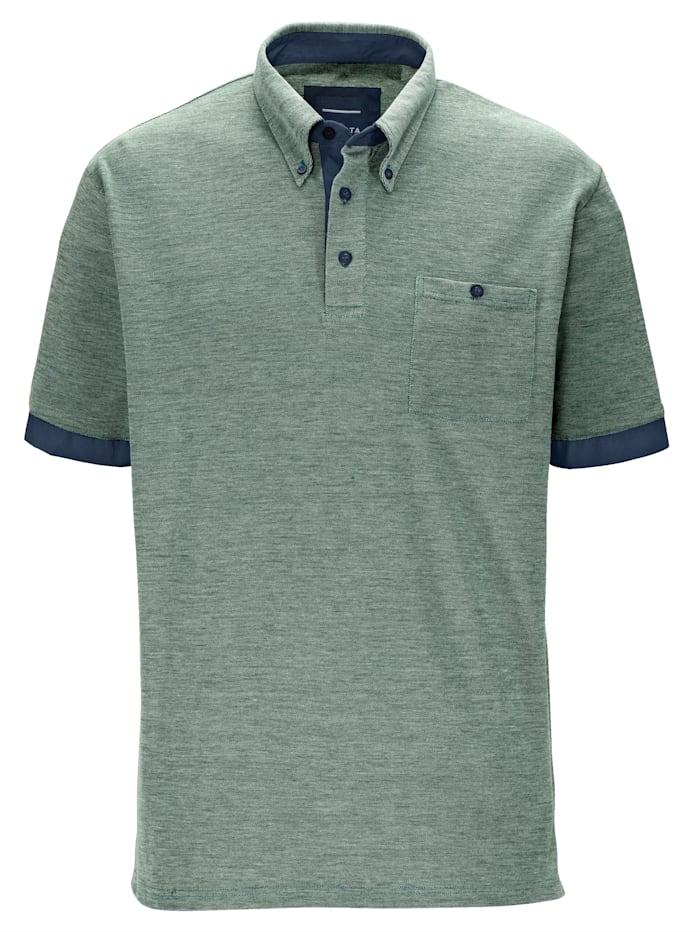 BABISTA Poloshirt met button-downkraag, Groen