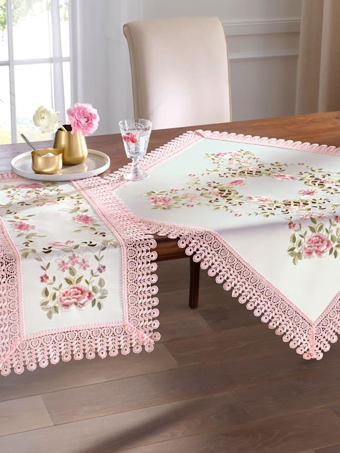 Webschatz Tischwäsche 'Rosalinde', rose