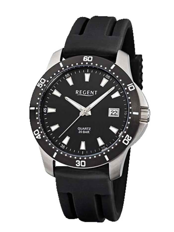 Regent Herrenuhr 11110656, Schwarz