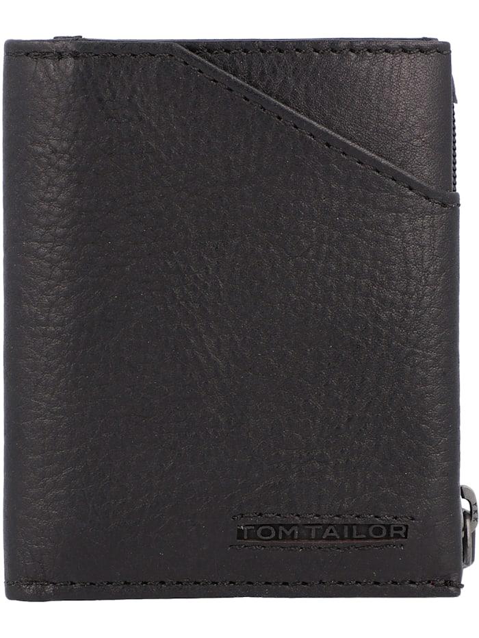 Tom Tailor Barry Geldbörse Leder 8 cm, black