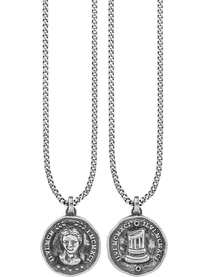 Caï Herren-Kette 925er Silber Spinell