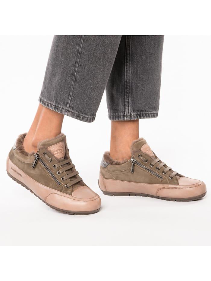 Rock Deluxe Zip Fur Sneakers Low
