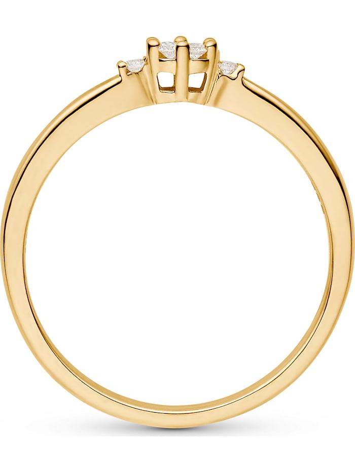 CHRIST Damen 585er Gelbgold 7 Diamant