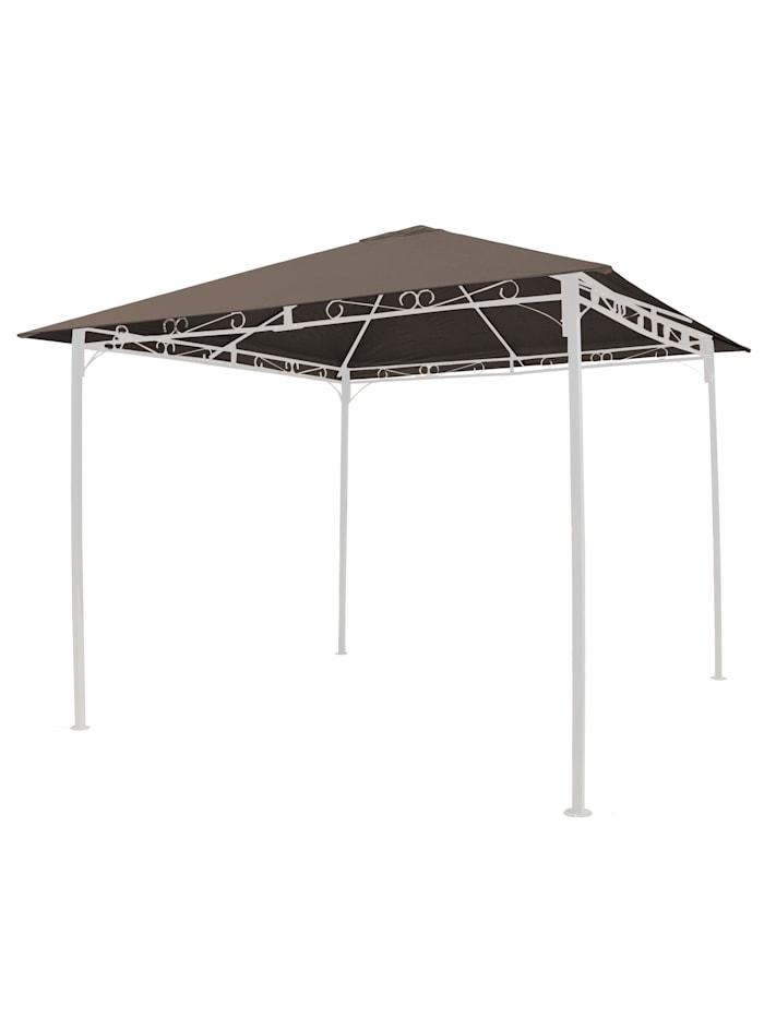 Grasekamp Universal Ersatzdach 293 x 293 cm  Polyester Taupe mit UV Schutz,  wasserabweisend, Braun