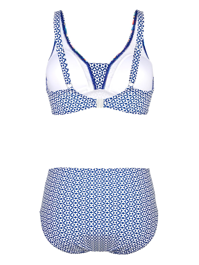 Bikini mit verstellbaren Trägern hinten